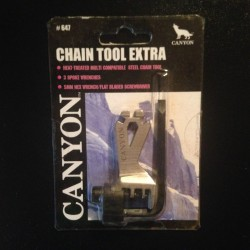 Canyon Chain Multi-Tool Extra - Rivet Extractor / Spoke Key Wrench / Hex / Screw Driver