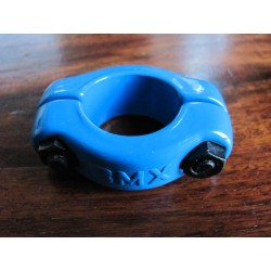 Old School BMX Seat Post Clamp Powder Blue 1 Inch for 22mm seatposts