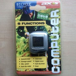 Axcs Bicycle Computer 8 Function