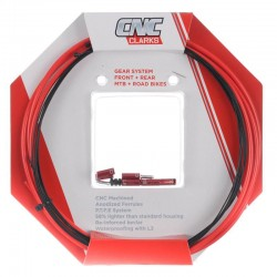 Clarks Zero G Lightweight Brake Cable Set RED Road MTB