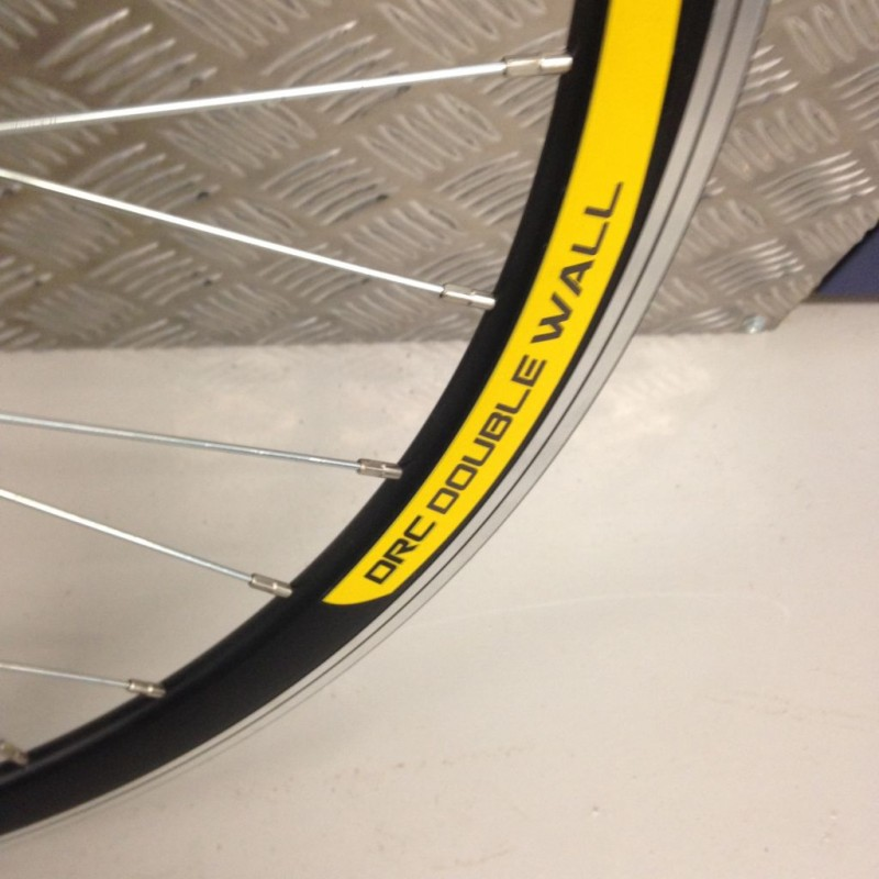 C Components Drc Double Wall Front Qr Racing Road Wheel