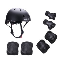 Kamugo Kids Youth Adjustable Sports Protective Helmet/Pad/Gear Set