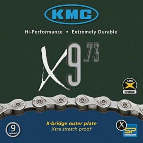 KMC Boxed ! NOT CHEAP LOOSE BULK CHAIN 9 speed X9.73 Shimano Campagnolo