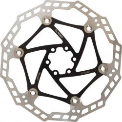 Clarks Floating Disc Brake Rotor in BLACK 160mm