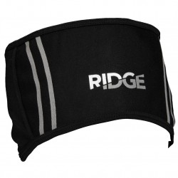 Ridge Wind Resistant Fleece Lined Headband - Black