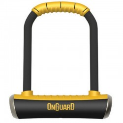 OnGuard Brute 8001 Bicycle Shackle/U Lock 115x202mm Gold Sold Secure