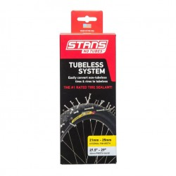 Stans NoTubes Tubeless System Cross Country 29er Yellow Kit 27.5-29in 21-25mm