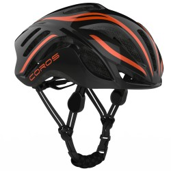Coros Linx Shine Black-Orange Helmet Size Large 57-61cm