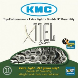 KMC X11EL 11 Speed Extra Light Cycle Chain Boxed