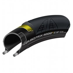 Continental Grand Prix 4000 S Ii Road Clincher, 700 X 23-inch, Black