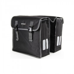 Basil Mara XL Double Pannier Bag Black