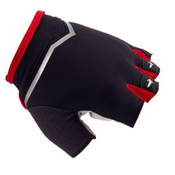 SealSkinz Ventoux Classic Road Cycling Mitts XL Black Red