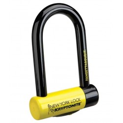Kryptonite New York Fahgettaboudit Mini U Shackle Lock Gold Sold ecure