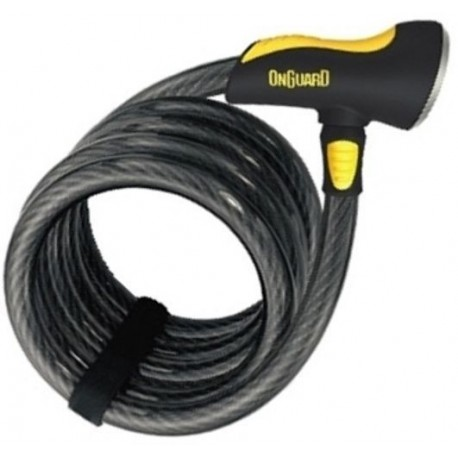 ONGUARD DOBERMAN 8028 6' Bicycle Coil Cable Lock 1850 x 12mm