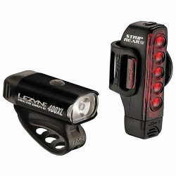 Lezyne Hecto Drive 400XL & Micro Strip Drive Front & Rear LED Light
