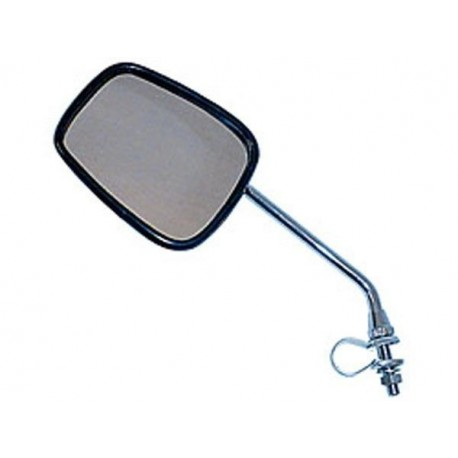 Savage Oval Bicycle Mirror with Reflector