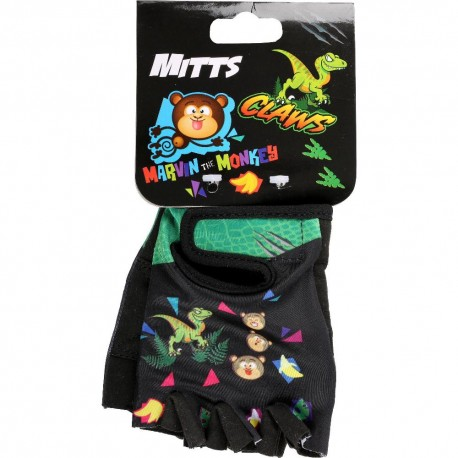 Apollo Marvin the Monkey + Claws Bike Mitts (Ages 3-6)