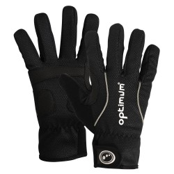 Optimum Hawkley Autumn Winter Gloves, Black Large