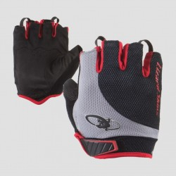 Lizard Skins Aramus Elite Gloves/Mitts, Jet Black/Crimson