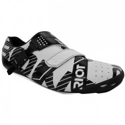 Bont Riot Buckle Road Cycling Shoes 42.5 White Black