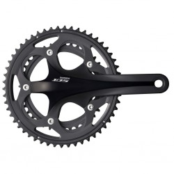 Shimano 105 FC-5750 Crankset/Chainset 50-34T 175mm Hollowtech Black