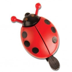 Adie Laydybird Bicycle Bell - Red