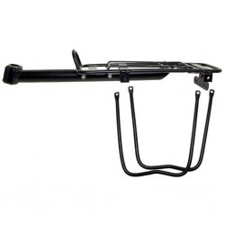 Alloy Seat Post Mounted Rear Pannier Carrier Rack Detachable Sides
