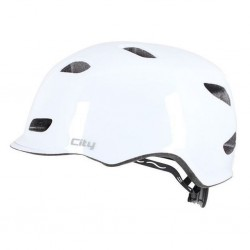 Apex City Commuter Helmet 54-58cm - White Gloss