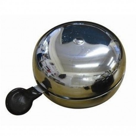 ETC Large Ding Dong Bicycle Bell, 80mm, Chrome