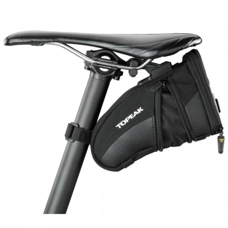 Topeak Aero Wedge Saddle Pack/Bag Large with Quick Clip