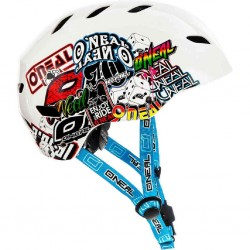 ONeal Junkie Dirt Lid Youth Helmet White Small 47-48cm