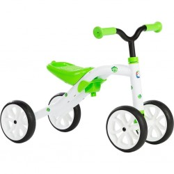 Chillafish Quadie 4 Wheel Ride On Grow-with-me Bike - Green