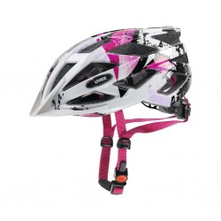 UVEX Air Wing Youths Bike Helmet pink white 52 to 57cm