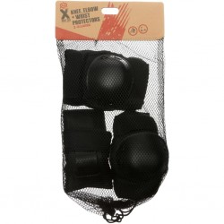 X Rated Kids Knee, Elbow, wrist Pads for Mtb Bmx Scooter Skating