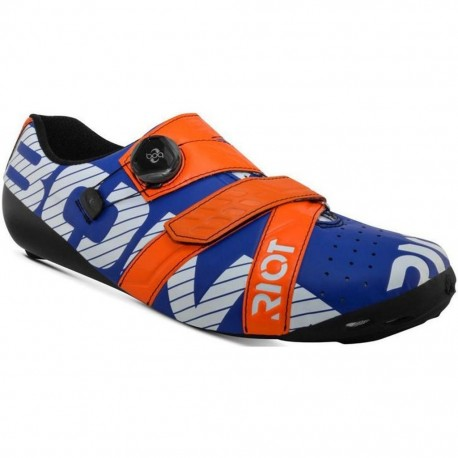 Bont Riot Boa Road Cycling Shoes 46.5 Midnight Mega Crimson