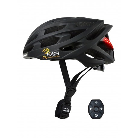 MFI Lumex Pro Future SMART Helmet - Black Large 58-61cm