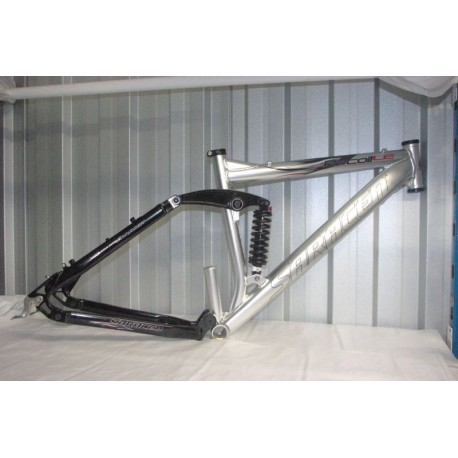 "Saracen Recoil Full Suspension Mountain Bike Frame and Shock 5"" or 6"" travel"