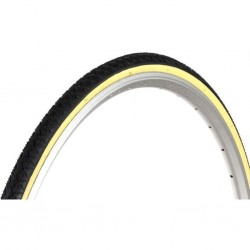 Hutchinson GT Black with Beige Side Wall 700 x 28C Hybrid City Tyre