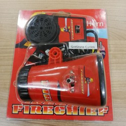 Fire Chief Siren Childrens Bicycle Bike Horn Battery Operated