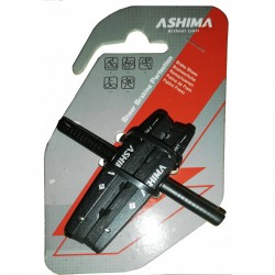 Ashima Advanced Groved Brake Shoes/Pads for Shimano (AP66C)