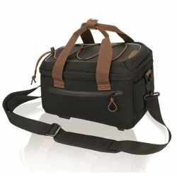XLC BA-W30 Carrier Bag Pannier Rack Trunk Bag 7L Black/Brown