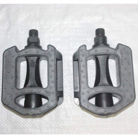 A Pair of 9/16th Comfort Pedals with Grippy Rubberized Surface