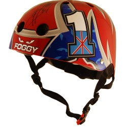 Kiddimoto Carl Fogarty Helmet Childs Bike BMX Cycle Stunt Scooter Skate Medium