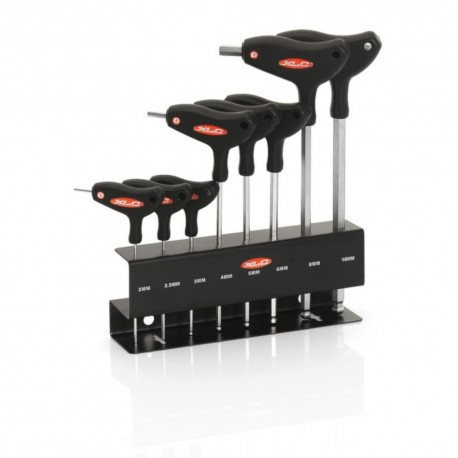 XLC T-Handle 8 Piece Hex Key Wrench Set TO-S32