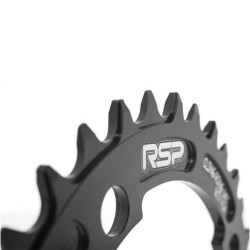 Raleigh RSP Cling Ring Narrow Wide Chainring 36T 104 BCD Black