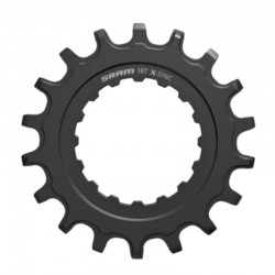 SRAM X-Sync Chainring 18T for Bosch E-Bike Motors Black