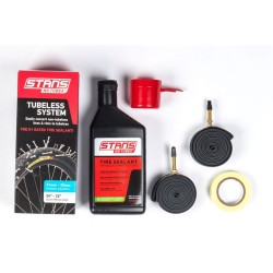 Stans NoTubes Tubeless System Standard Blue Kit 26/24in 21.5-24.5mm