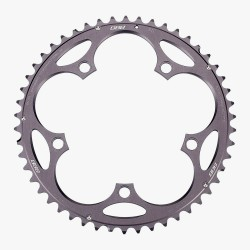 BBB RoadGear BCR-11S Chainring 130 BCD 50T SRAM 9/10 Speed Compatible Dark Grey