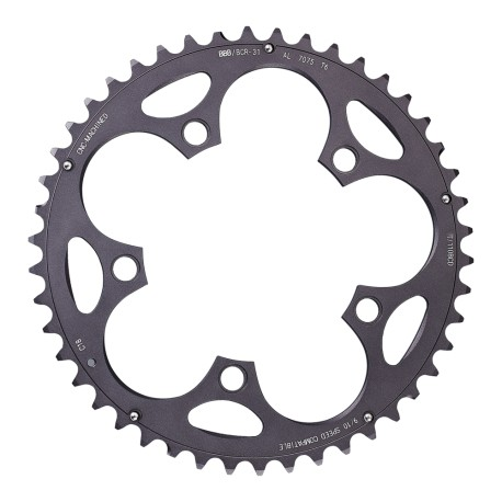 BBB CompactGear BCR-31Chainring 110 BCD 48T Shimano 9/10 Speed Dark Grey