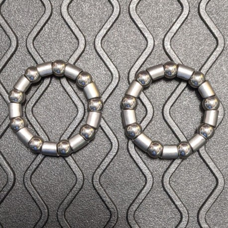 Weldtite 5/16in ATB/BMX Ball Bearing Race Cages for Bottom Bracket